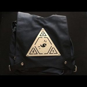 Unif backpack with triangle